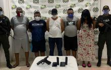 En video | Cayeron 'Raúl el Cabezón' y otros cuatro de 'los Papalópez'