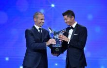 Robert Lewandowski, mejor jugador de la última Champions League