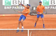 Juan Sebastián Cabal y Robert Farah están en tercera ronda del Roland Garros.