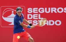 Felipe Rojas, en competencia.