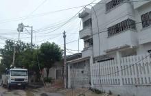 Fuertes lluvias afectaron los circuitos Nueva Colombia y Portal del Prado