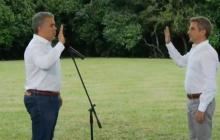 El presidente Duque posesionó al nuevo ministro de Ambiente, el exalcalde de Montería Carlos Correa.