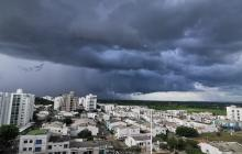 Alerta roja en Córdoba por incidencia de tormentas eléctricas