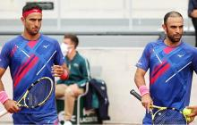 Cabal y Farah superan dura prueba y clasifican a cuartos en Roland Garros