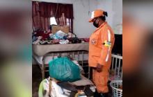 Desbordamiento de los ríos Frío y Sevilla dejan 43 familias damnificadas