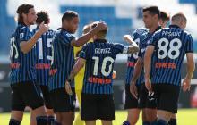Con goles de Muriel y Zapata, Atalanta arrolla al Cagliari y es líder