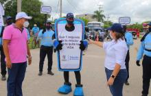 Tránsito del Atlántico lanza campaña para reducir la accidentalidad