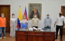 Caicedo renovó su equipo de gobierno con 14 funcionarios