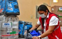 OMS dona kits de vacunación al Distrito de Cartagena