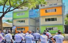 Inauguran edificio de 4 pisos en la Universidad del Magdalena