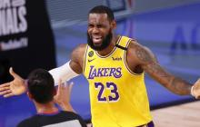 En video | Lakers 102, Heat 96: James y Davis quedan a un triunfo del título