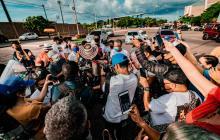 En video | El Rey Vallenato 2020 se pasea por Cartagena