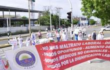 Trabajadores de hospital de Valledupar vuelven a paro