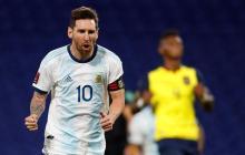 Argentina 1, Ecuador 0: solo un grito en el silencio