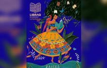 Afiche de la tercera edición de la Feria Internacional del Libro de Barranquilla, Libraq.