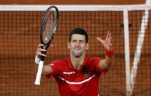 Novak Djokovic sufrió pero está en la final del Roland Garros contra Rafael Nadal.