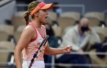 Sofia Kenin, de 21 años, es la clasificada número seis en el ranking de la WTA.