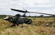 Helicóptero del Ejército se accidenta: cuatro militares heridos