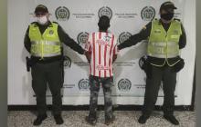 Dairo Rafael Pérez Peralta, capturado por el delito de fuga de presos.