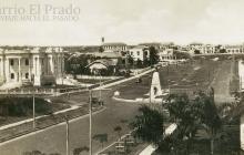 Remembranza del parque Los Fundadores en los 100 años del barrio El Prado