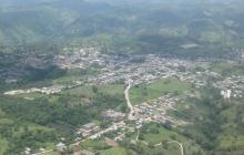 Panorámica del sur de Bolívar.
