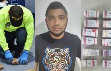 En vídeo | Golpe al narcotráfico: capturan a alias Humito en Barranquilla