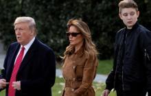 Barron, uno de los hijos de Trump, tuvo Covid