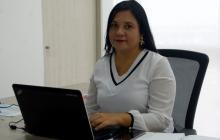 María Victoria Olier, jefe de Control Disciplinario de la Alcaldía de Cartagena.