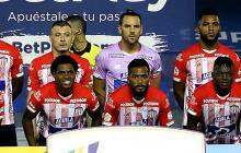 Arriba: Moreno, Rosero, Pico, Viera, Borja y Ditta. Abajo: Piedrahíta, Viáfara, González, Cetré y Teófilo.