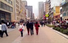 Bogotá, entre las ciudades más aptas del mundo para caminar, según estudio