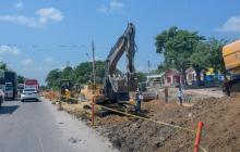 Distrito atenderá daños en casas afectadas por obras en La Cordialidad