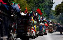 Indígenas niegan que protesta esté infiltrada por los grupos ilegales
