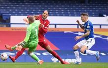 En esta acción ocurrió la lesión que sufrió el defensor holandés Virgil van Dijk.