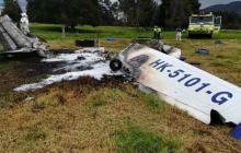 Se accidenta otra aeronave en cercanías a Bogotá
