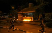 Judicializan a 5 presuntos responsables de vandalismo en protestas en Bogotá