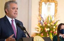 """""""No se requiere de aglomeraciones para ser escuchado"""": Presidente Duque"""
