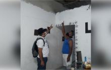 Vendaval destechó viviendas en tres barrios de Soledad
