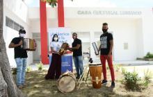 Gobernación inicia dotación de Casas de Cultura para reactivar las artes