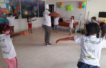 A través de la danza y el teatro se potencian las habilidades de niños y niñas.