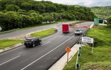 Las obras de la doble calzada se inician en el kilómetro 87+116 de la vía Cartagena–Barranquilla.