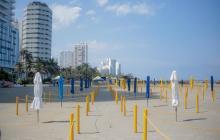 En video   Cartagena reabre más sectores de playas este sábado en Bocagrande