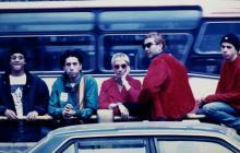 Héctor Buitrago y Andrea Echeverri junto a otros integrantes de Aterciopelados.