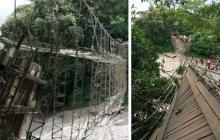 Dos cordobesas entre las víctimas del puente caído en Necoclí