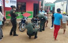 Policía del Atlántico realiza campaña contra hurto de motos