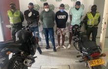 Los capturan tras intento de atraco a comerciante en Ciénaga
