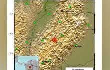 Sismo de magnitud 3,6 sacudió a Boyacá