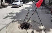 Reponer tapas robadas a manholes, en Santa Marta ha costado $56 millones