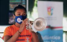 Los músicos de la Banda de Baranoa regresan a ensayos después de 7 meses