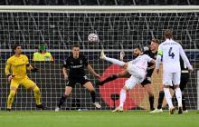 Karim Benzema marcó el primer gol del Real Madrid ante el Borussia Monchengladbach.