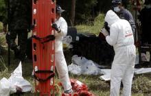 La JEP continuará exhumación de posibles víctimas de ejecuciones en Antioquia